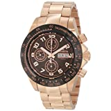 Invicta Men's 10939 Speedway Automatic Chronograph Brown Dial Watch (Color: brown)
