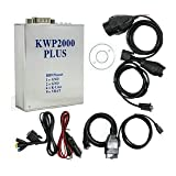 Kwp2000 Plus ECU Remap Flasher Obd2 ECU KWP 2000 Chip Tuning Tuner Eobd/ Obd2/obd Tunning Tool (Color: White)