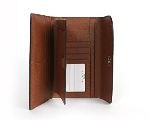 Wallet Saddle Leather Leather Checkbook Wallet