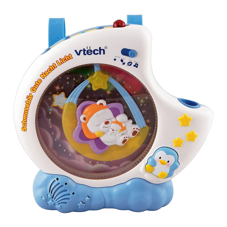 VTech Baby 80-111804 – Schmusebär Gute Nacht Licht als Geschenk