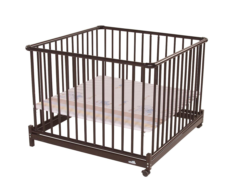 Geuther Kindermöbel 2234 KO036 Laufgitter EURO PARC 102 x 102 cm, Höhe 77 cm, Folie Bären, Innenmaß: 97 x 97 cm günstig kaufen