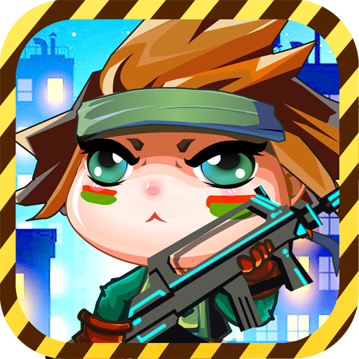 clash-of-cute-2-boom-babes-girl-run-from-panda-tap-games