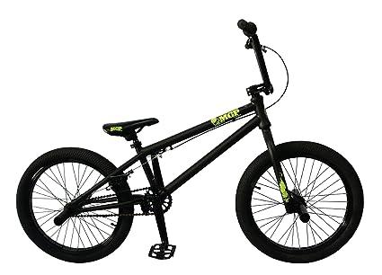Bmx Purple And Black Bmx Bike Black/green Mgp