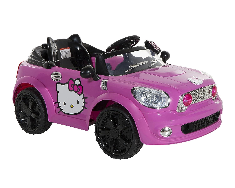 Hello Kitty Karaoke Car Hello Kitty Coupe Ride on Car