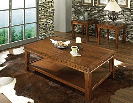 Steve Silver Odessa Coffee Table and End Table Set