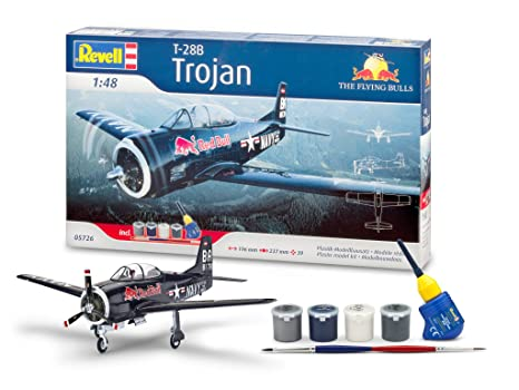 Revell - 05726 - Maquette - Aviation - Coffret Cadeau T-28 Trojan - Flying Bulls