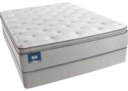 Cal King Simmons BeautySleep Star Fall Plush Pillow Top Mattress