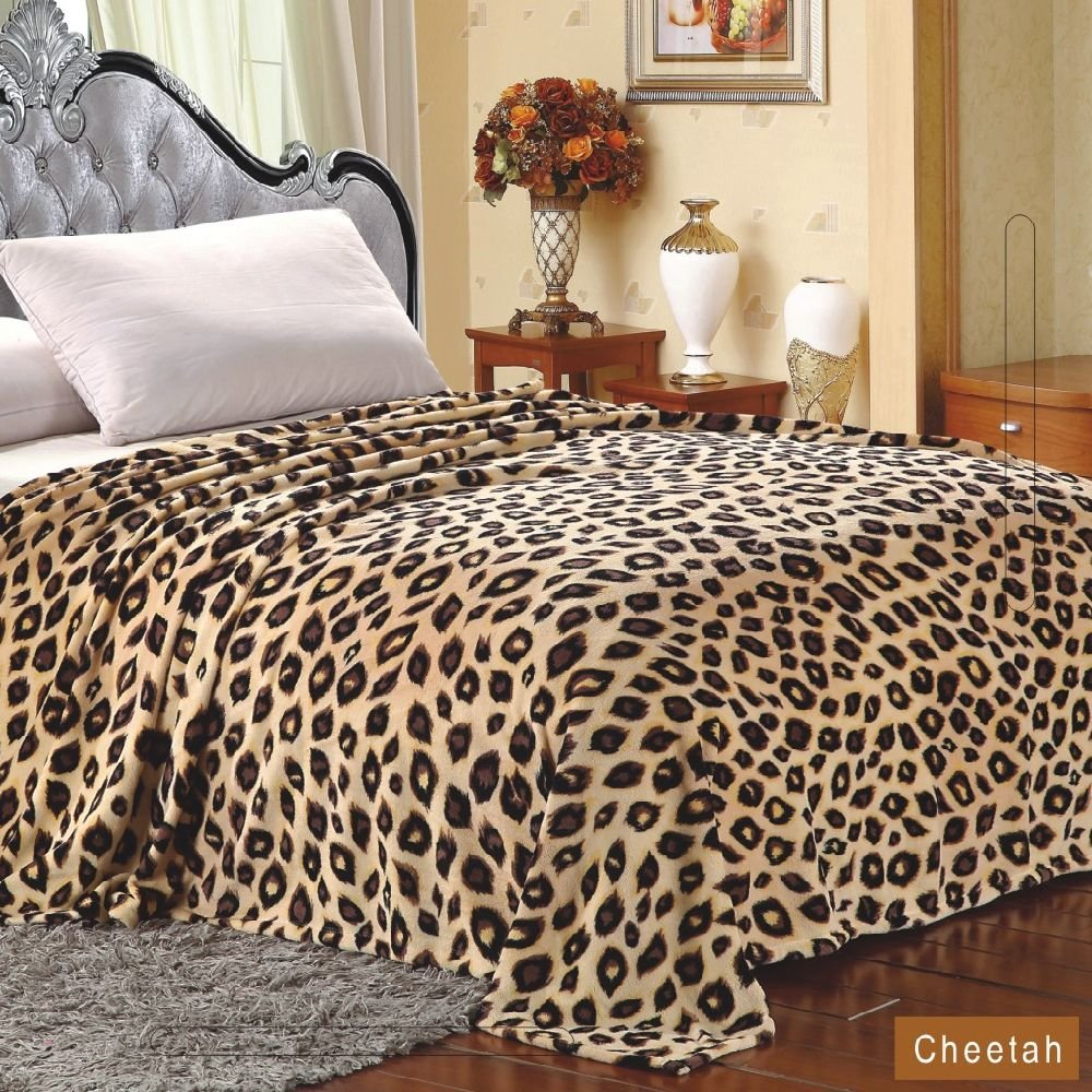 Cheetah print bedding and bedroom accessories xpressionportal - Cheetah bedspreads ...