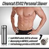 Cleancut ES412 Personal Shaver (Color: blue, Tamaño: ES412 Shaver)