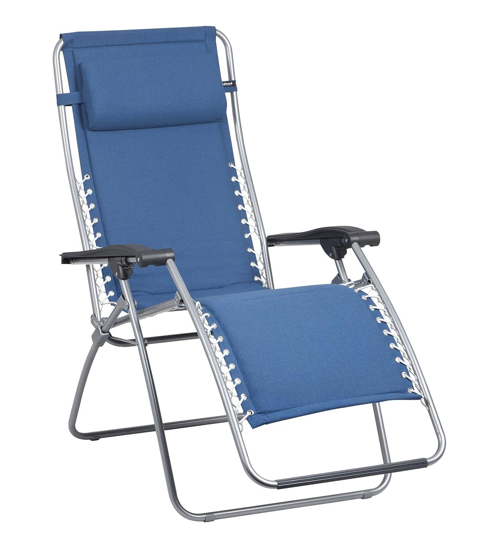 Lafuma LFM2001-7714 Relax-Liegestuhl, klappbar und verstellbar, RSX, blau günstig