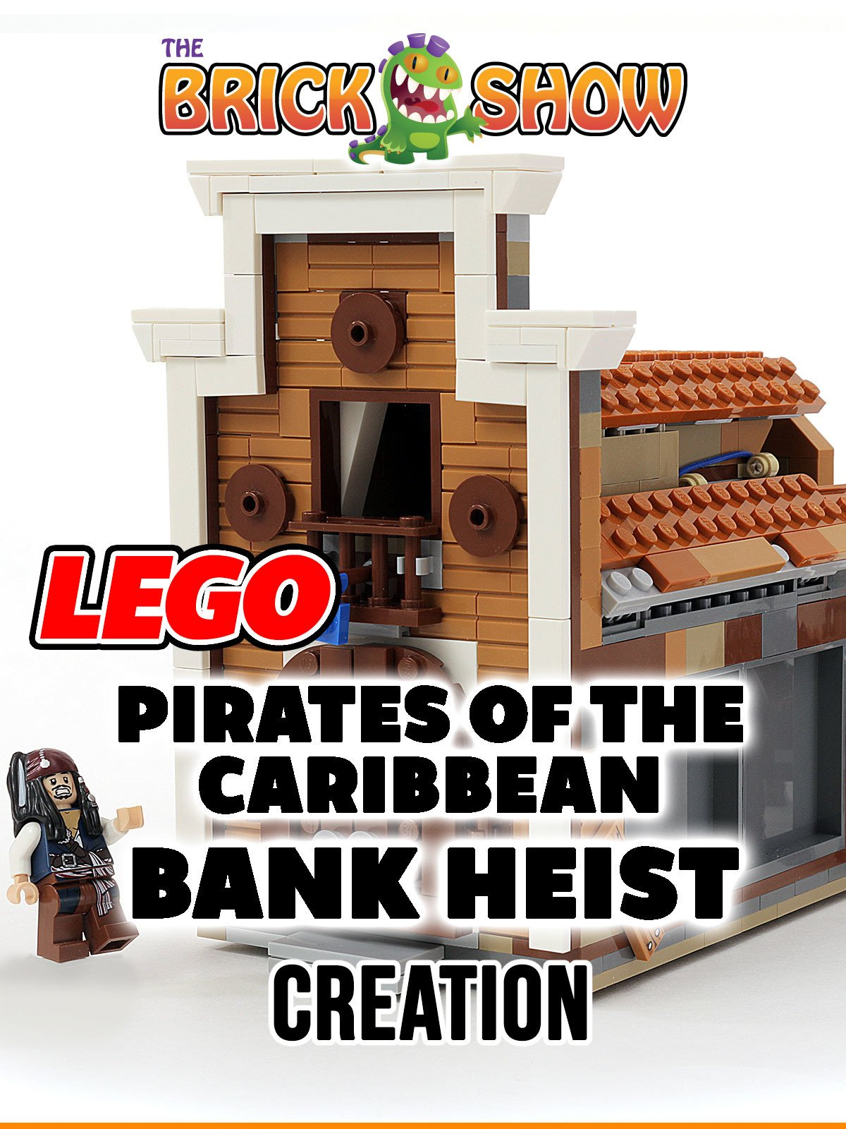Clip: Lego Pirates of the Caribbean Bank Heist Creation