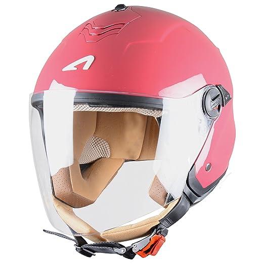Astone Helmets MINIMS-CHERRYXS Casque Jet Mini Jet S Cherry Taille XS