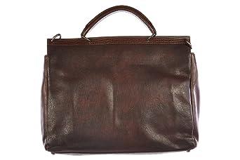 9dcb09f0d3302 Bezug Super Angebote mit sollten investieren DOLCE GABBANA Aktentasche  Tasche Dokumententasche Laptoptasche Leder vintage Braun.