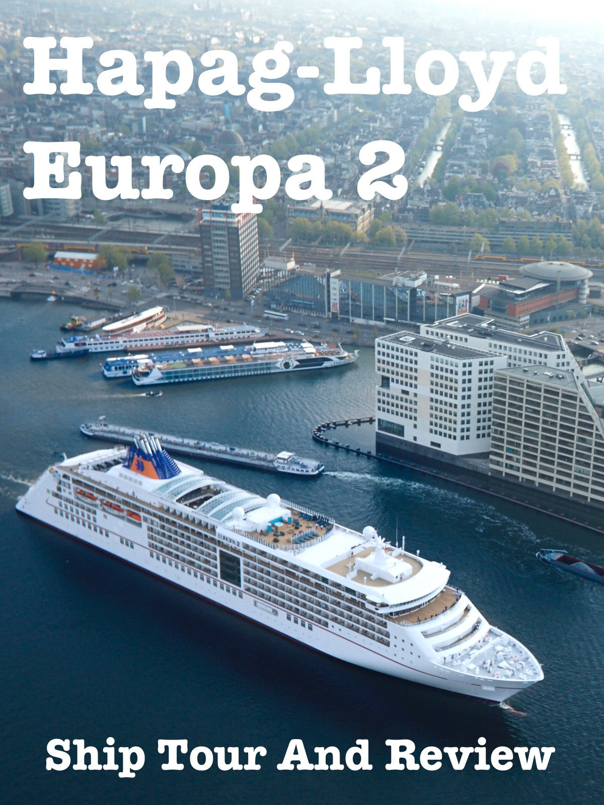 Clip: Hapag-Lloyd Europa 2 Ship Tour And Review