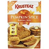 Krusteaz Pumpkin Spice Baking Mix (3ways to enjoy - Quick Bread, Cookies, or Pancakes) 45oz