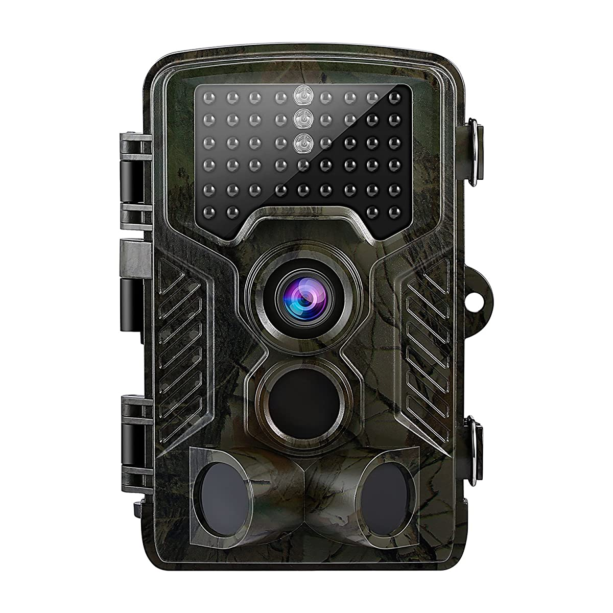 YKS Hunting Trail Game Camera,Motion Activated Camera with Time Lapse Big LCD Wildlife Multi IR LEDs and 12MP 1080P HD Infrared Night Vision Waterproof
