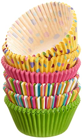 Wilton Assorted Rainbow Standard Baking Cup Mega Pack