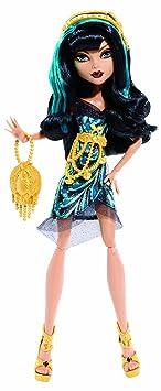 Monster High Hauntlywood Carpet Cleo (Black)