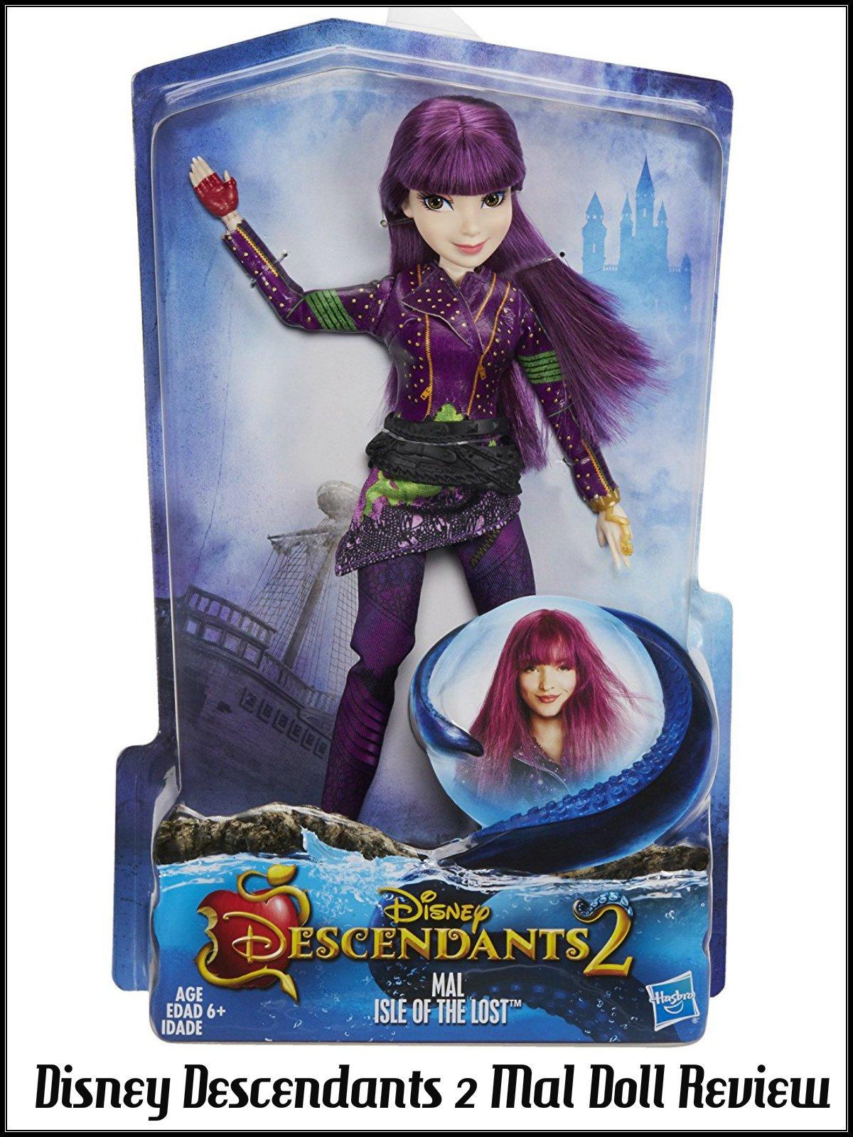 Review: Disney Descendants 2 Mal Doll Review
