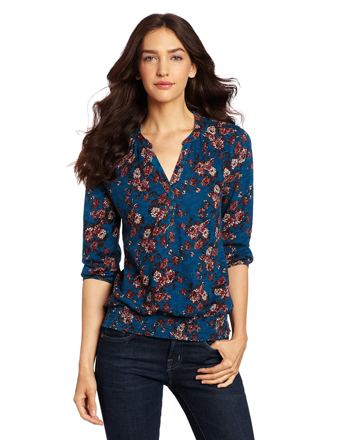 Lucky brand women 39 s ikat for Top dress shirt brands