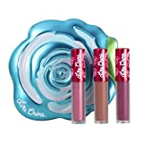 Lime Crime Velve-tins Liquid Matte Lipstick Mini Velvetine Trios (Blue Rose) (Color: Blue Rose)