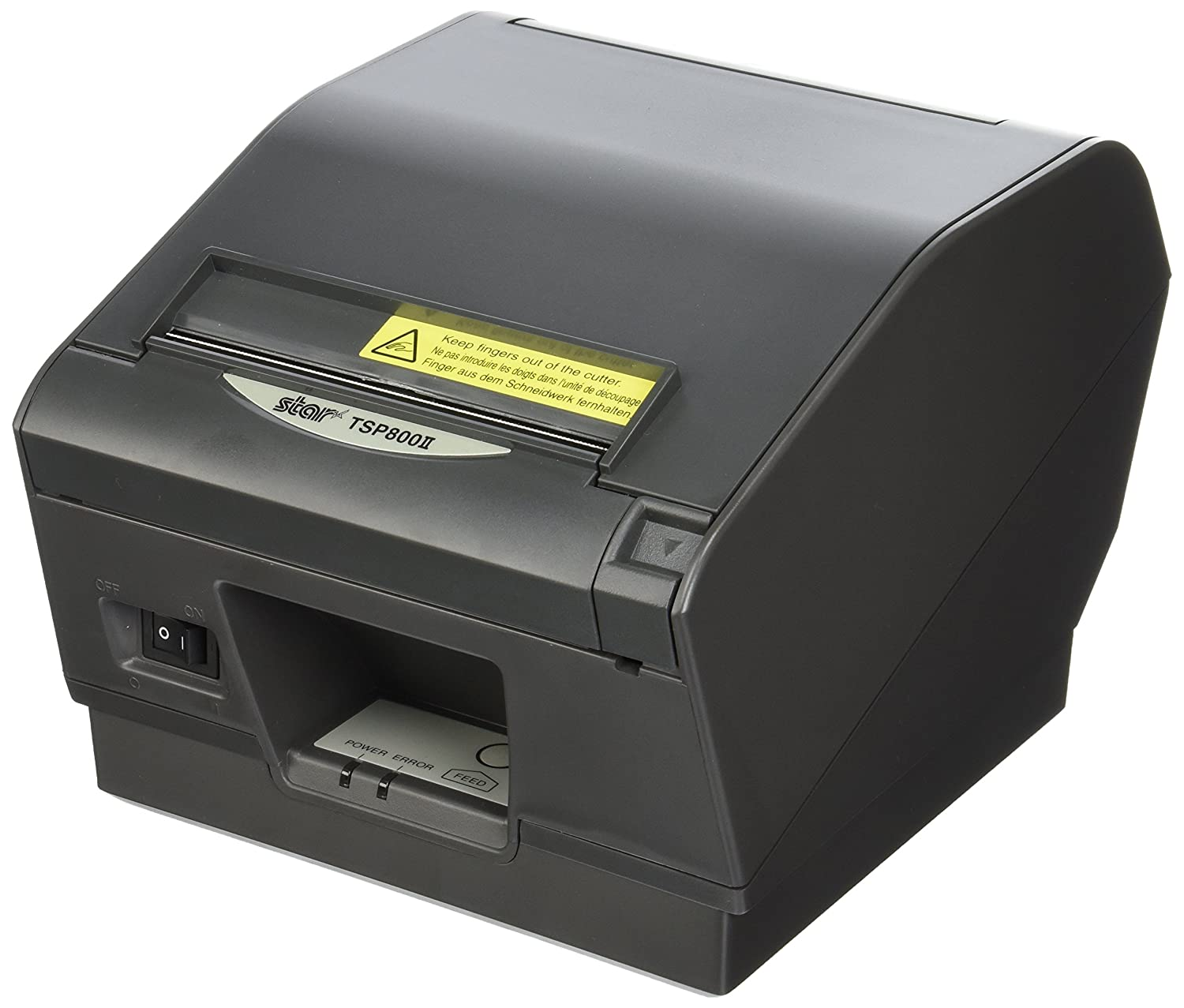 Ultra High Speed thermal receipt printer  with Ethernet or Bluetooth interface, wide paper format (4.4-inch) and auto cutter.