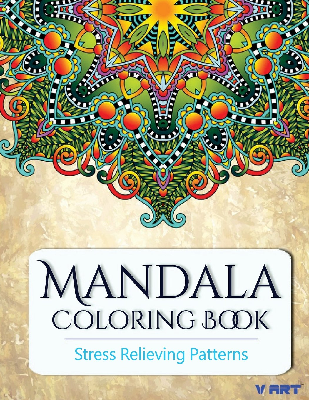 NEW Mandala Coloring Book Adults Stress Relieving Patterns