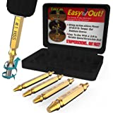 Damaged Screw Extractor Set by Aisxle,Easily Remove Stripped Gold Oxide Edition Stripped Screw Removers (Glod)