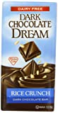 Dark Chocolate Dream Rice Crunch Dark Chocolate Bar, 3 Ounce Bars (Pack of 12)