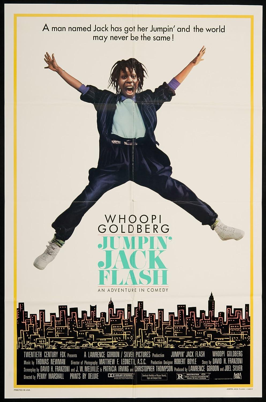 Jumpin Jack Flash Poster Jumpin' Jack Flash 1986