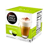NESCAFÉ Dolce Gusto Coffee Capsules, Cappuccino, 16 Count ( Pack Of 3 ) (Tamaño: 16 Count (Pack of 3))