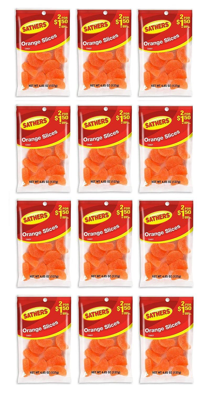 Sathers Orange Slices - 4.85 Oz. Bag - 12 Ct. - SCS stanton scs 4dj bag