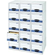 Bankers Box Stor/Drawer Steel Plus Storage Drawers, Legal, 6 Pack (00312)