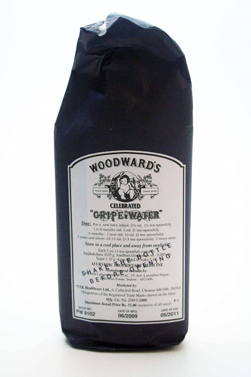 Similar product: Woodward's Gripe Water