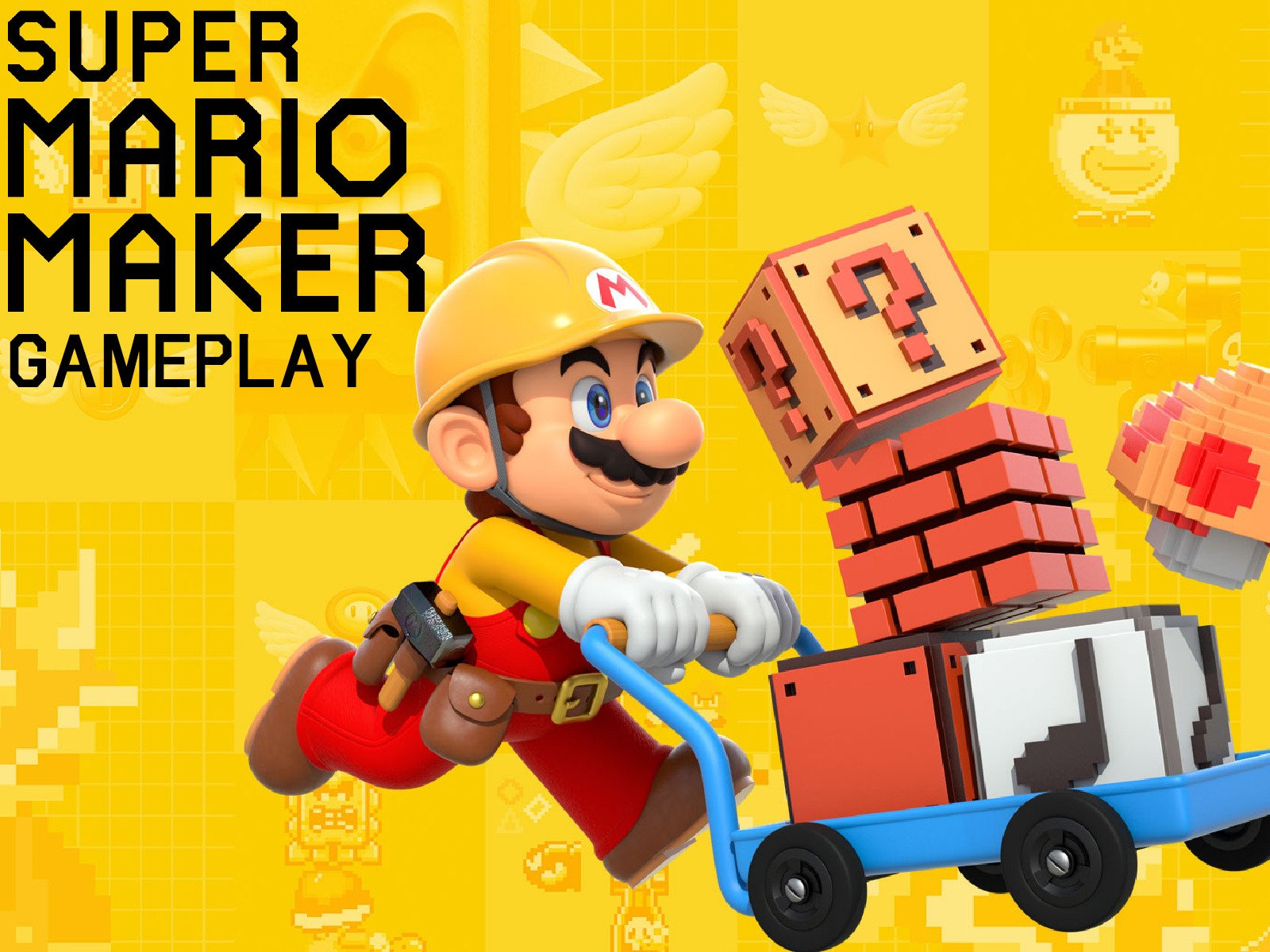 Clip: Super Mario Maker Gameplay