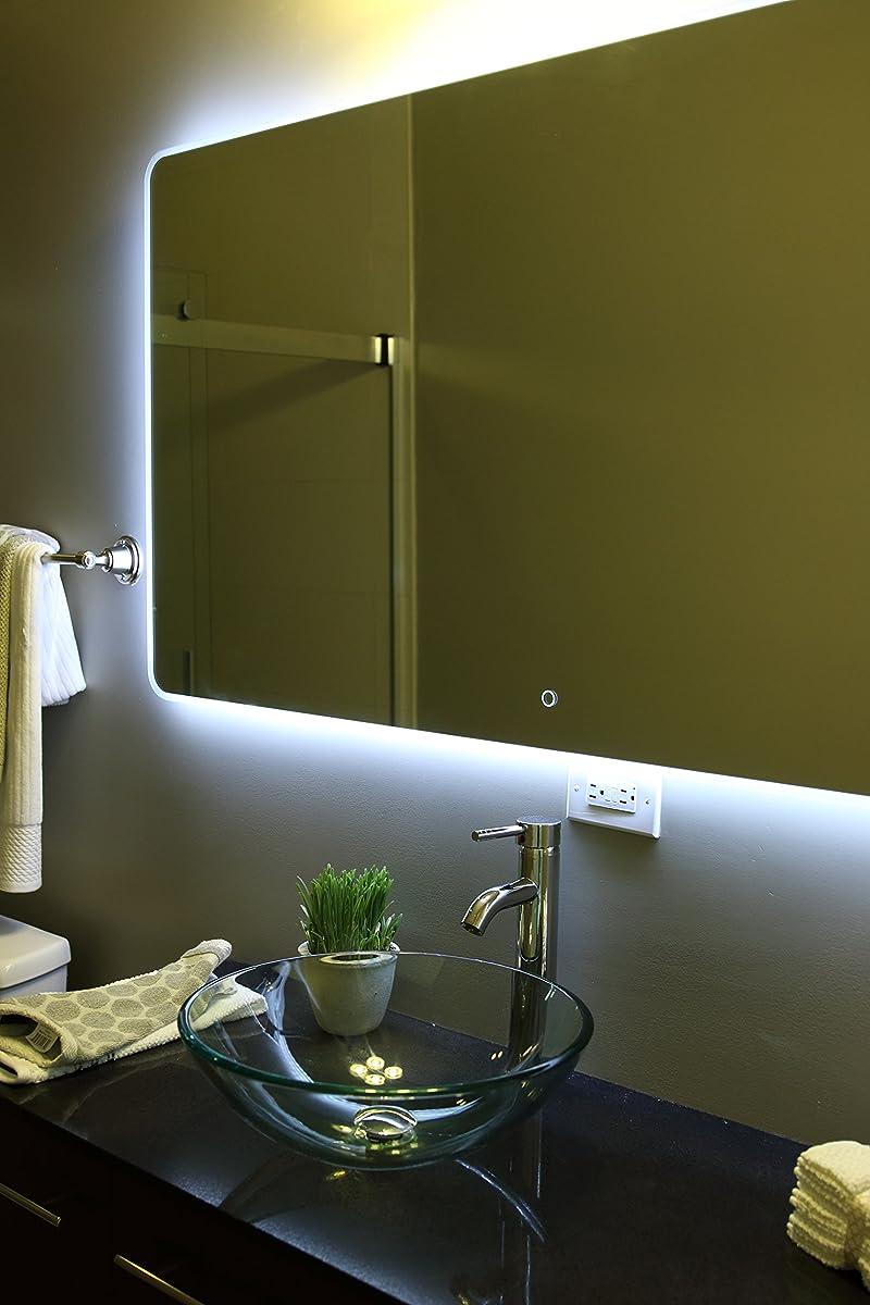 Windbay Backlit Led Light Bathroom Vanity Sink Mirror