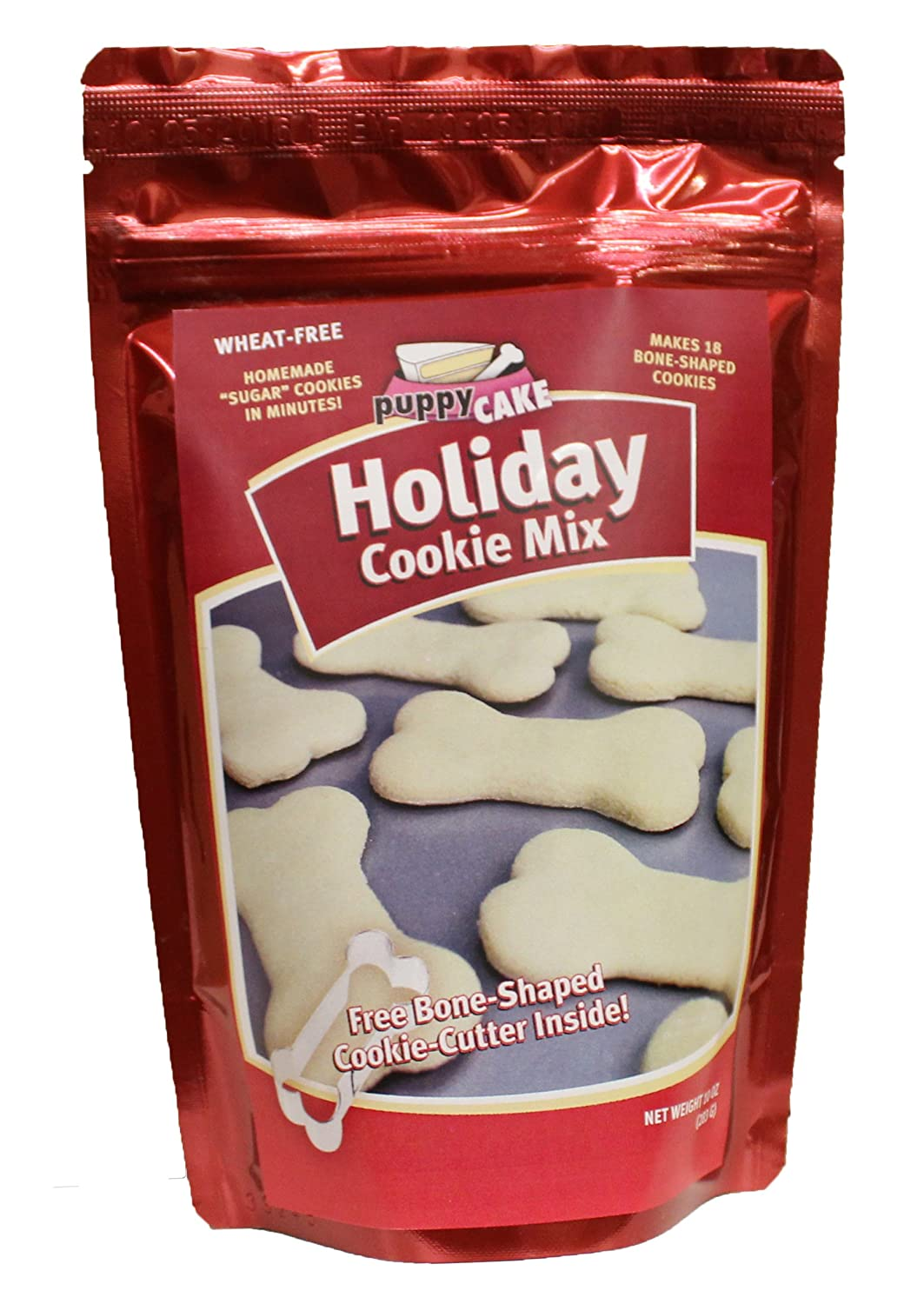 Holiday Dog Cookie Mix