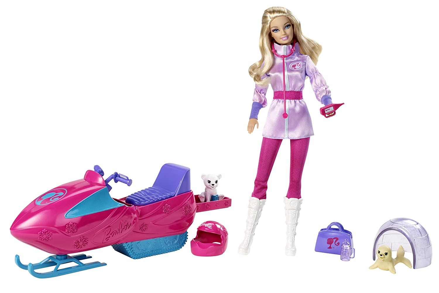 Barbie I Can Be Artic Rescuer Doll Playset