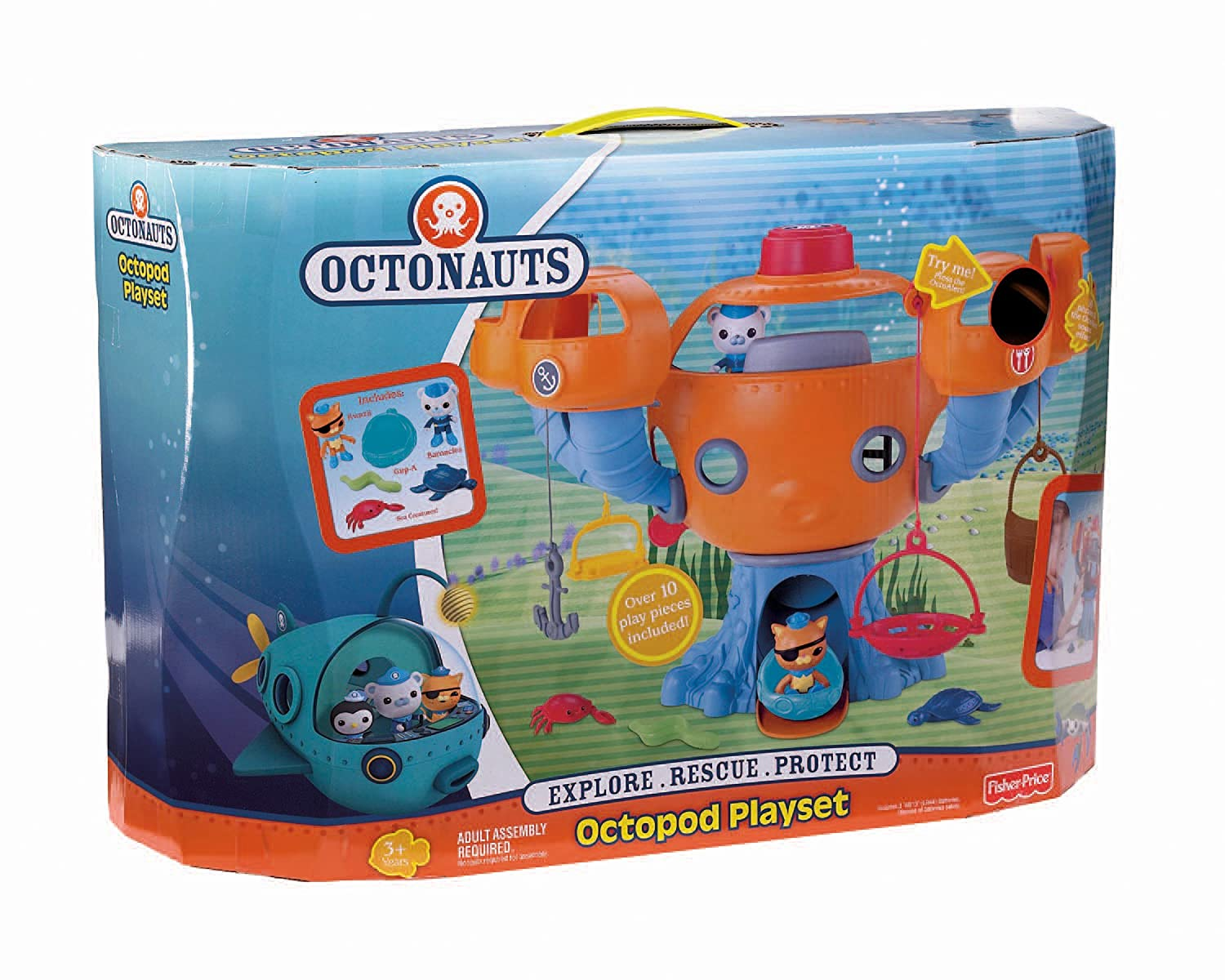 Fisher-Price Octonauts Octopod Bleist List ~ octonauts toys