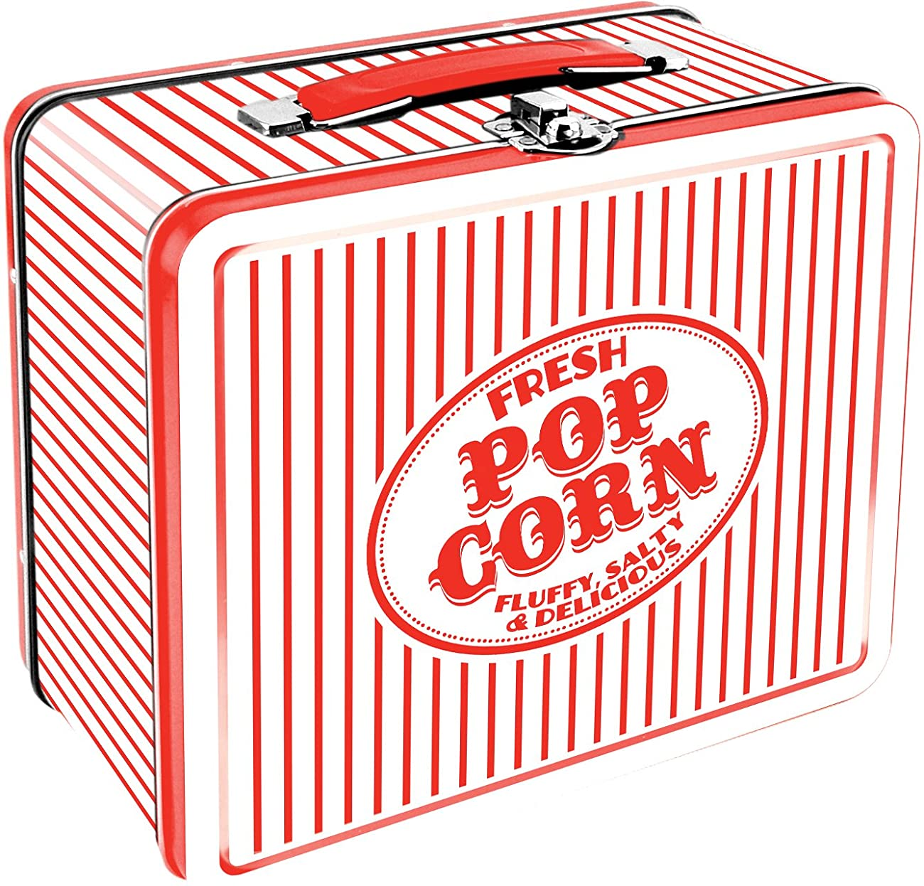 Aquarius Vintage Popcorn Large Tin Fun Box 0