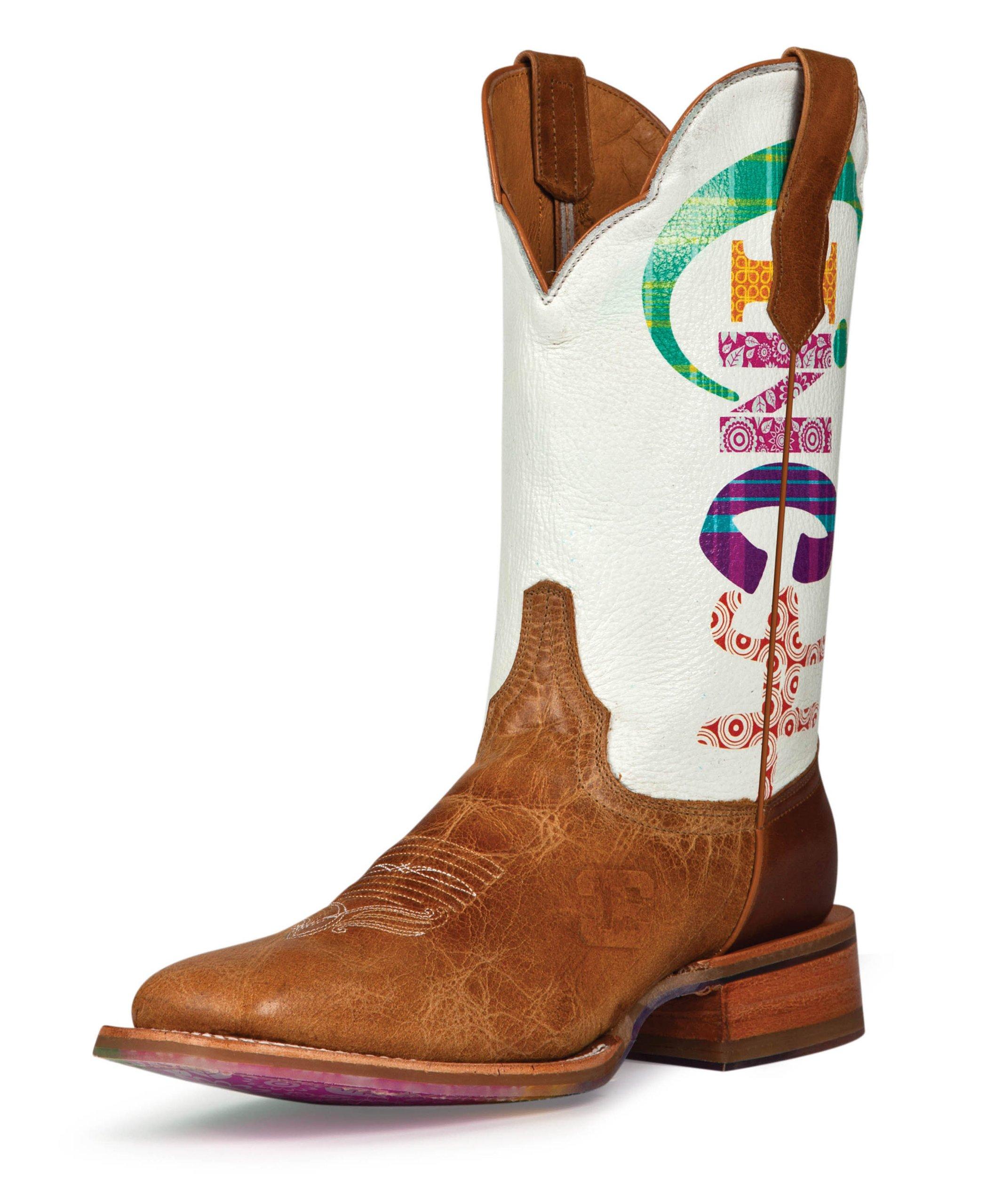 Cinch Women's Edge Marquee Cowgirl Boot Square Toe