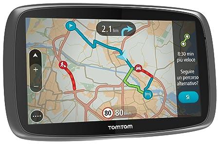 TomTom GO 600 GPS Eléments Dédiés à la Navigation Embarquée Europe Fixe, 16:9 (Import Europe)