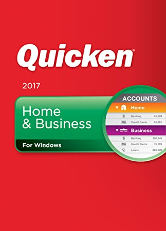 Quicken Home & Business 2017 Personal Finance & Budgeting Software [Download]