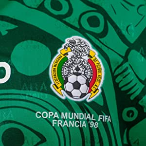 ABA Sport Mexico Authentic 1998 World Cup Soccer Jersey 26ae50dcb