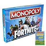 Fortnite Monopoly - Monopoly Deal Includes Monopoly Fortnite Edition and Game Guide - Board Games for Families - Fortnite Bundle - Fantastic Gift Idea