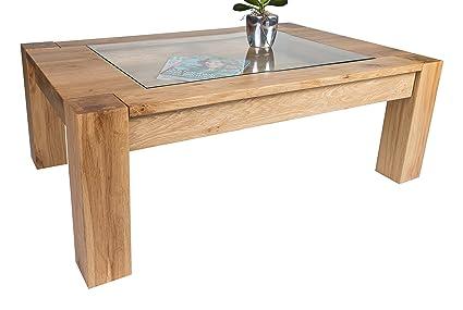 HL Design 01-03-130.1olé 110.0x 70.0x 40.5cm Wild Oak Wood Coffee Table