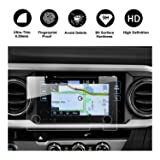 RUIYA 2016 2017 2018 Toyota Tacoma In-Dash Screen Protector, HD Clear Tempered Glass Car Navigation Screen Protective Film (Color: Clear)