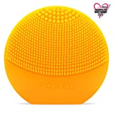 FOREO LUNA play – All the Power of T-SONIC Cleansing in 1 Small Device, Sunflower Yellow