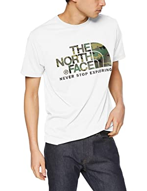 THE NORTH FACE(ザノースフェイス) [ザノースフェイス] Tシャツ ショートスリーブカモフラージュロゴティー メンズ