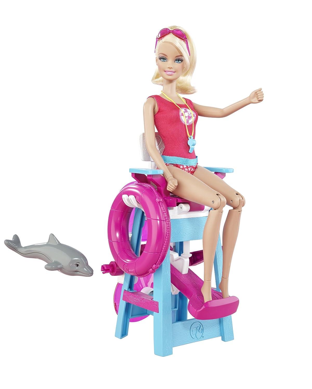 Barbie I Can Be Lifeguard Playset